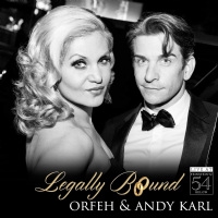Legally Bound 54 BELOW Orfeh & Andy Karl CD